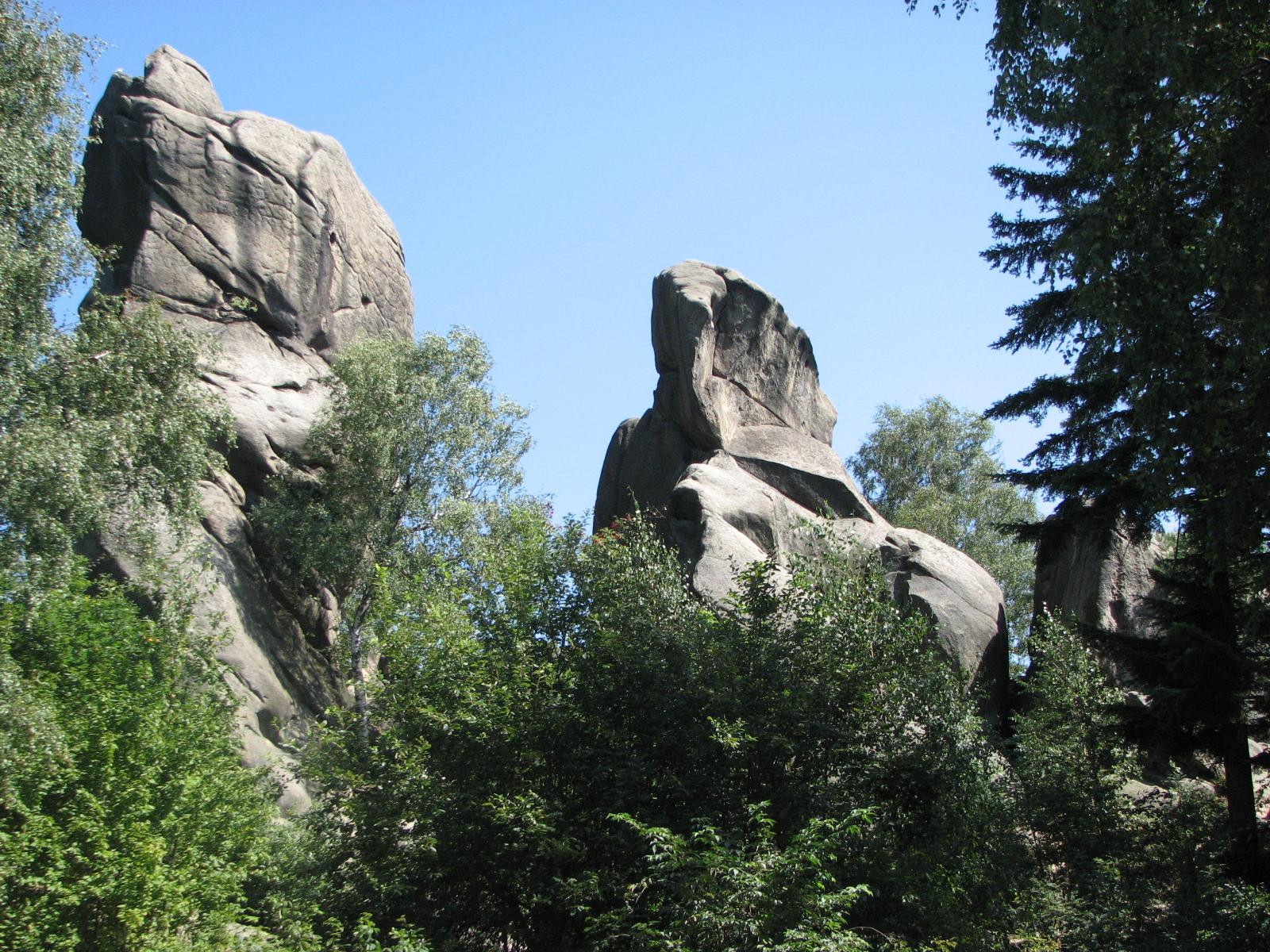 Szlak Strzelnica - Sucha Góra