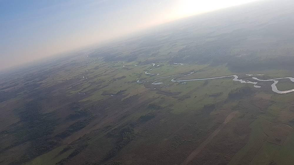Lot Balonem nad Biebrzą