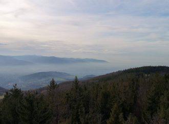 Szlak na Wielką Czantorię z Ustronia (Ustroń Polana)