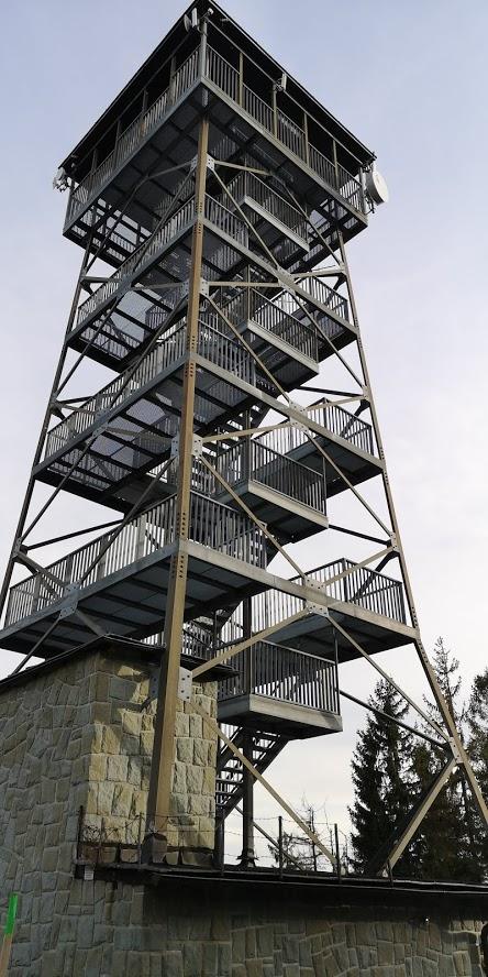 Wieża na Wielkiej Czantorii