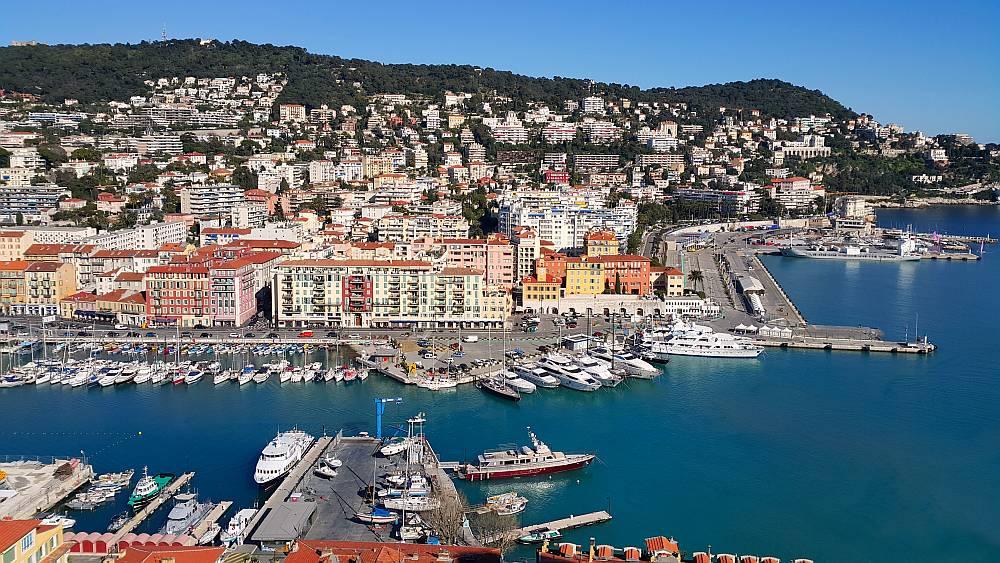 Lazurowe Wybrzeże (Riwiera Francuska) - Nicea Port
