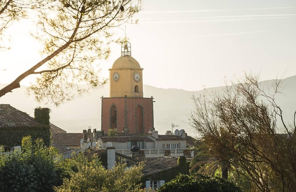 Saint-Tropez - Wieża z zegarem